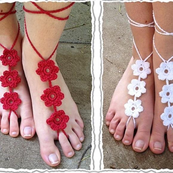 1f1678b75c073 Shoes | Hot Pink Barefoot Sandals | Poshmark